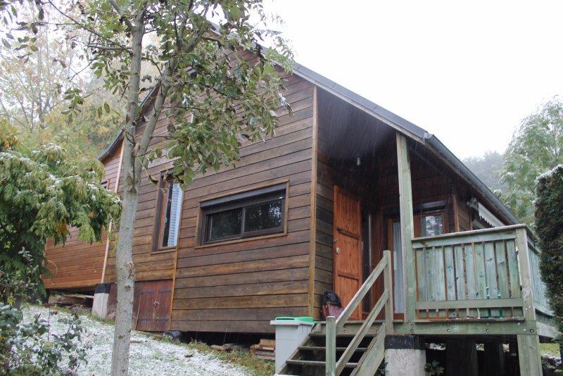 vente Mandailles Maison en bois avec terrain # Acheter Maison En Bois Avec Terrain